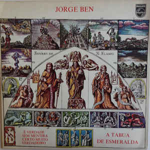 Jorge Ben - A Tábua De Esmeralda - Album Cover