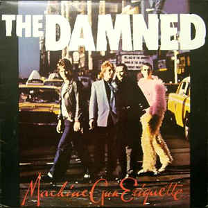 The Damned - Machine Gun Etiquette - Album Cover