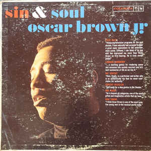 Oscar Brown Jr. - Sin & Soul - Album Cover