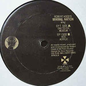 Robert Hood - Minimal Nation - Album Cover