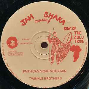 Twinkle Brothers - Faith Can Move Mountain / Mob Fury - Album Cover