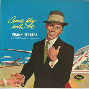 Frank Sinatra - Come Fly With Me - Album Cover