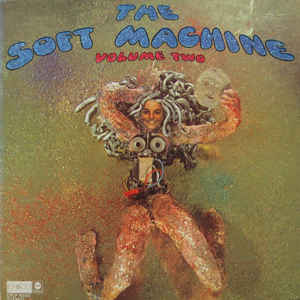 Soft Machine - Volume Two - Album Cover
