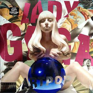 Lady Gaga - Artpop - Album Cover