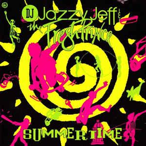 DJ Jazzy Jeff & The Fresh Prince - Summertime - Album Cover