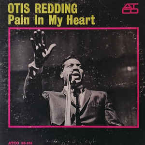 Otis Redding - Pain In My Heart - Album Cover
