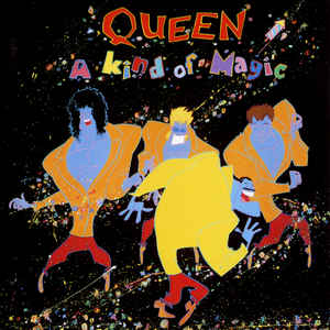 Queen - A Kind Of Magic - Album Cover