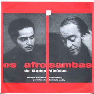 Baden Powell - Os Afro Sambas - Album Cover
