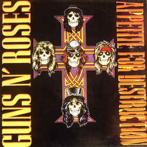 Appetite For Destruction - Album Cover - VinylWorld