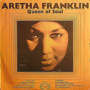 Aretha Franklin - Queen Of Soul - Album Cover