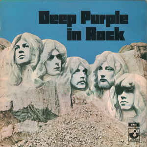 Deep Purple - Deep Purple In Rock - Album Cover