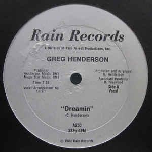 Dreamin - Album Cover - VinylWorld