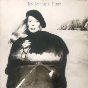 Joni Mitchell - Hejira - Album Cover