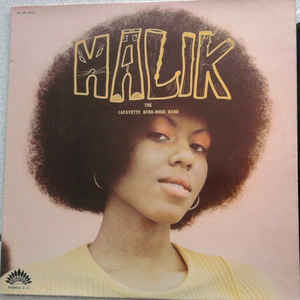 Lafayette Afro Rock Band - Malik - Album Cover