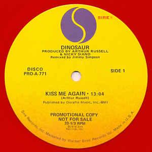 Dinosaur - Kiss Me Again - VinylWorld