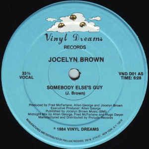Jocelyn Brown - Somebody Else's Guy - VinylWorld