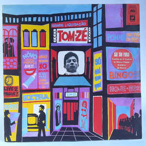 Tom Zé - Album Cover - VinylWorld