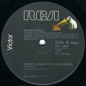 Samba Soul - Chove Chuva / Mas Que Nada / Mambo No. 5 - Album Cover