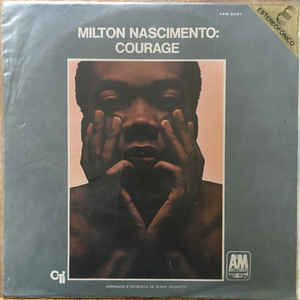 Milton Nascimento - Courage - Album Cover