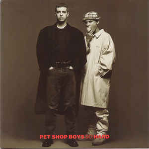 Pet Shop Boys - So Hard - Album Cover