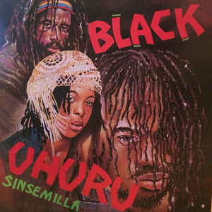 Black Uhuru - Sinsemilla - Album Cover
