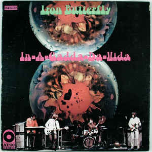 Iron Butterfly - In-A-Gadda-Da-Vida - Album Cover