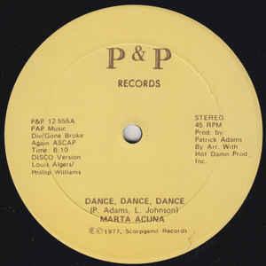 Marta Acuna - Dance, Dance, Dance - VinylWorld