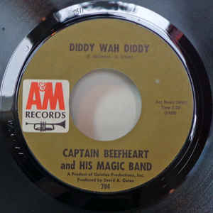 Captain Beefheart And His Magic Band - Diddy Wah Diddy - Album Cover