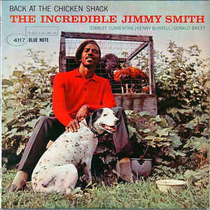 Jimmy Smith - Back At The Chicken Shack - Album Cover