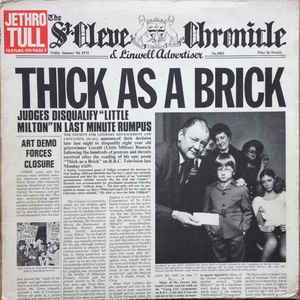 Thick As A Brick - Album Cover - VinylWorld