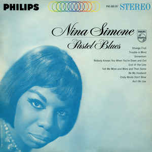 Nina Simone - Pastel Blues - Album Cover