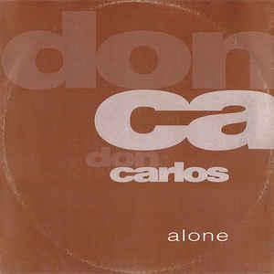 Don Carlos - Alone - Album Cover