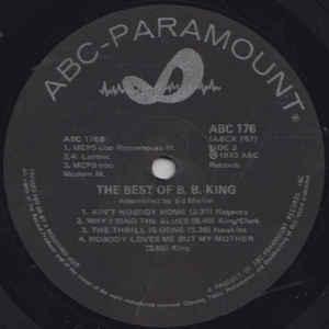 B.B. King - The Best Of B.B. King - Album Cover