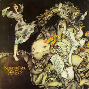 Kate Bush - Never For Ever - Album Cover