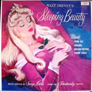 Various - Walt Disney's Sleeping Beauty - Album Cover