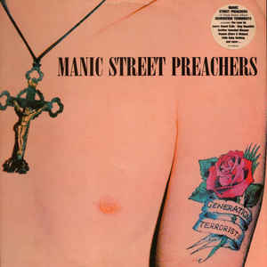 Manic Street Preachers - Generation Terrorists - Album Cover