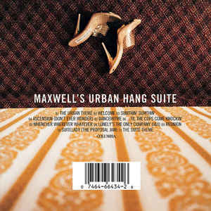 Maxwell - Maxwell's Urban Hang Suite - Album Cover
