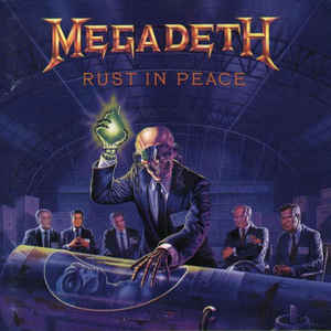 Megadeth - Rust In Peace - Album Cover