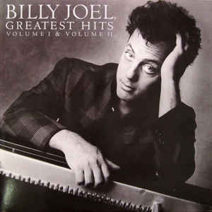 Billy Joel - Greatest Hits Volume I & Volume II - Album Cover
