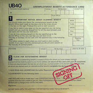 Signing Off - Album Cover - VinylWorld