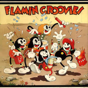 The Flamin' Groovies - Supersnazz - Album Cover