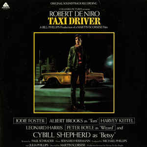 Taxi Driver - Original Soundtrack Recording - Album Cover - VinylWorld