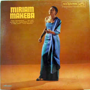 Miriam Makeba - Miriam Makeba - Album Cover