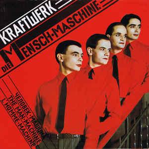 Kraftwerk - Die Mensch·Maschine - Album Cover