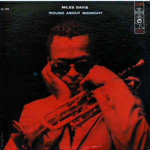 Miles Davis - 'Round About Midnight - Album Cover