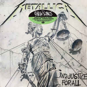 Metallica - ...And Justice For All - VinylWorld