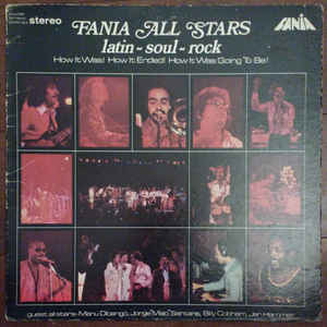 Fania All Stars - Latin-Soul-Rock - Album Cover