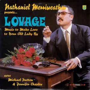 Nathaniel Merriweather - Music To Make Love To Your Old Lady By - Album Cover
