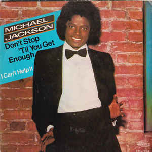Michael Jackson - Don't Stop 'Til You Get Enough - Album Cover