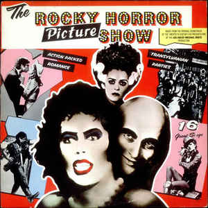 The Rocky Horror Picture Show - Album Cover - VinylWorld